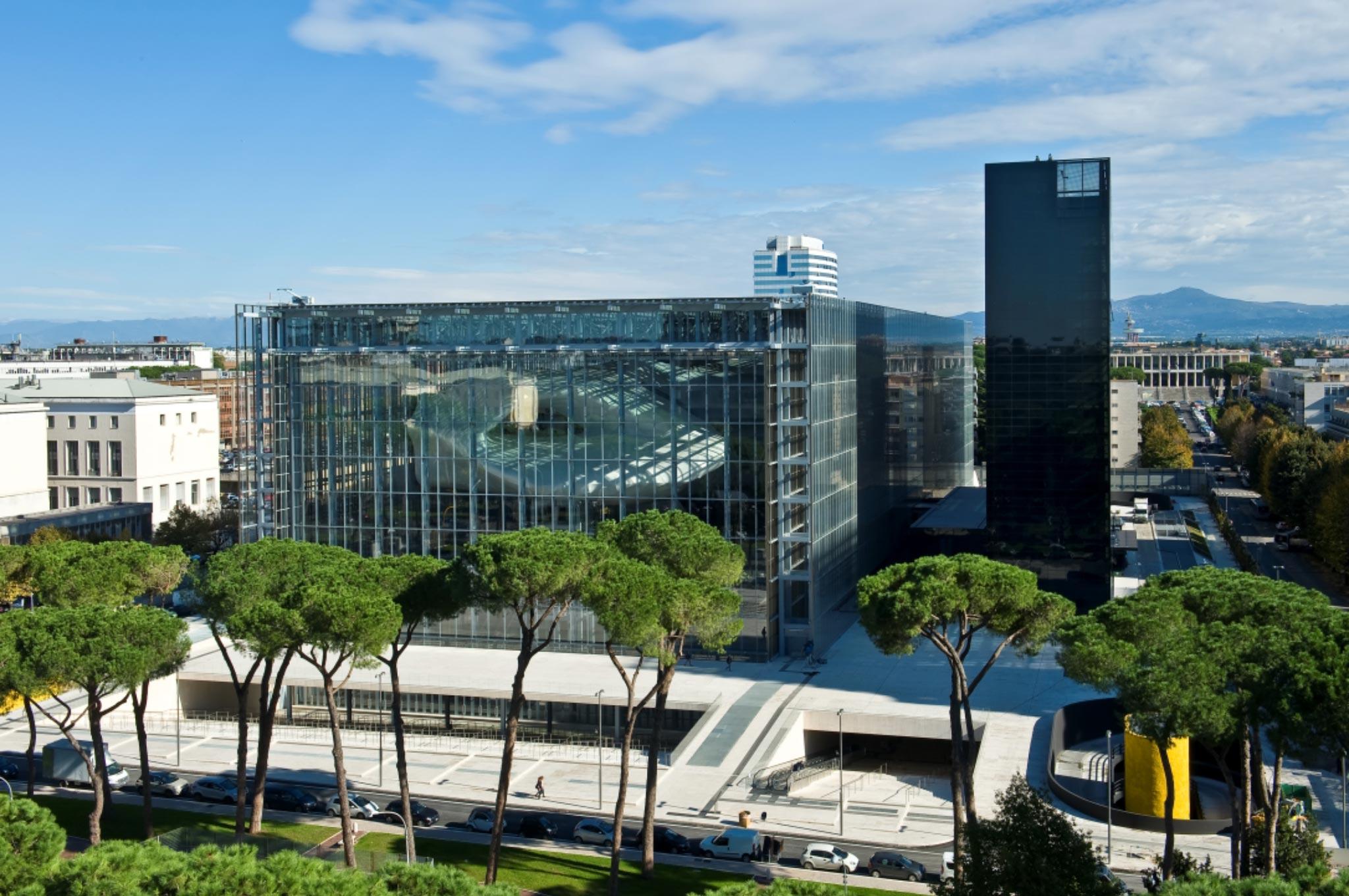 New Rome EUR Convention Centre and Hotel, Rome Photos Credit © Moreno Maggi