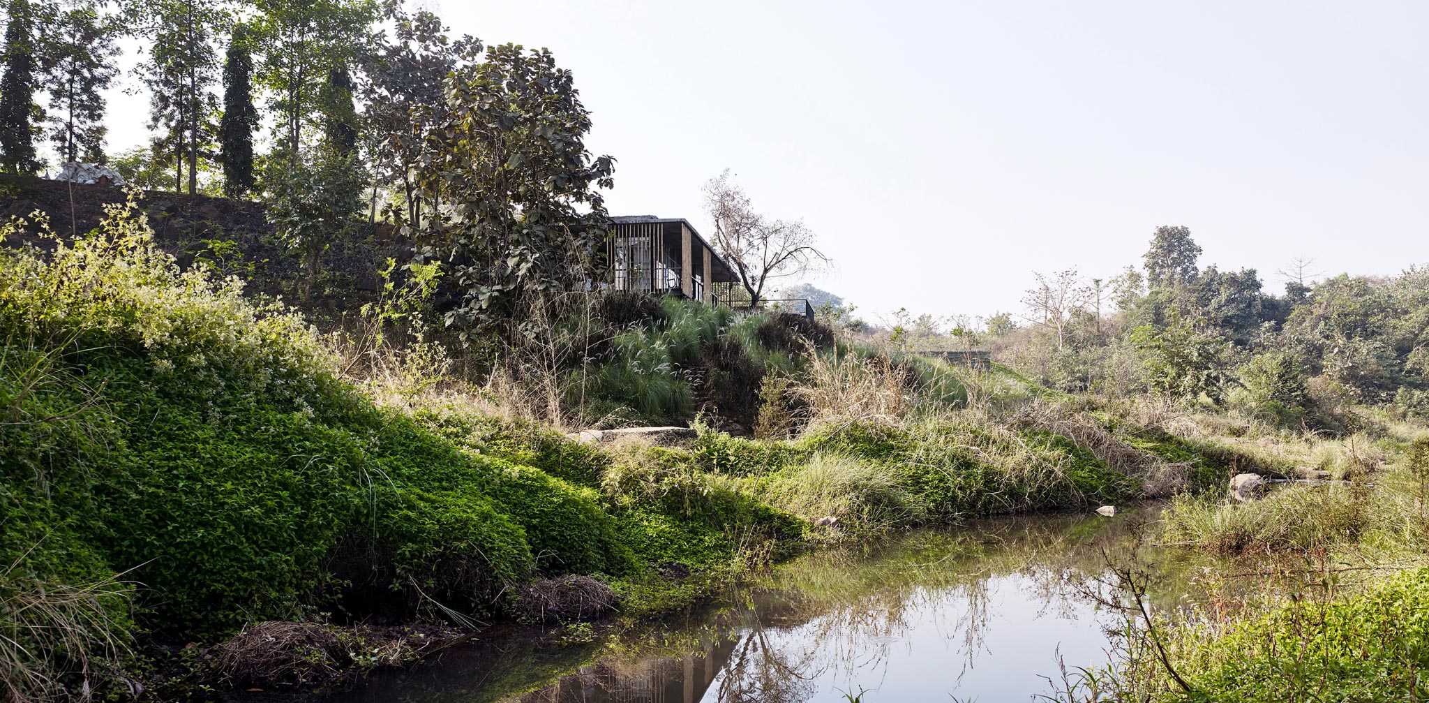 The Riparian House Karjat India