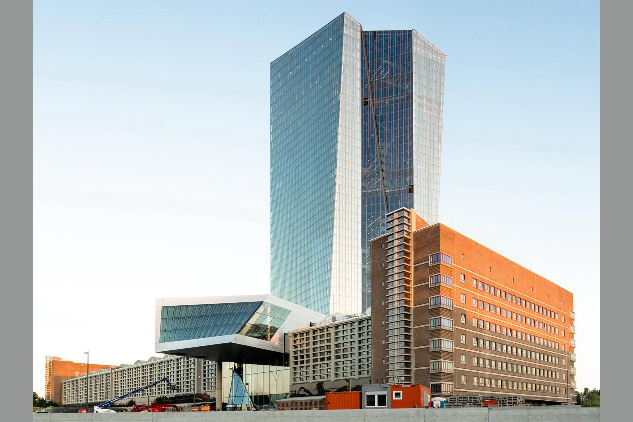 European Central Bank, Frankfurt/Main, Germany: photo credit © European Central Bank/Robert Metsch