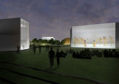 THE JOHN F. KENNEDY CENTER FOR THE PERFORMING ARTS EXPANSION